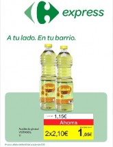 Folleto de Carrefour Express