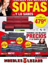 Folleto de Muebles Lozano