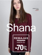 Folleto de Shana Shops Rebajas