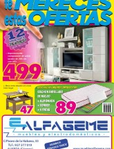 Folleto de Muebles Alfageme