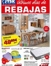 Folleto de Jysk Rebajas