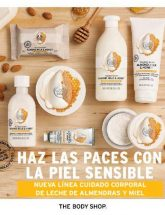 Folleto de The Body Shop