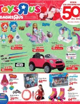 Folleto de Toys 'R' Us